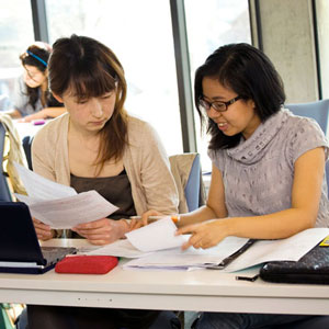 Presessional English Language students